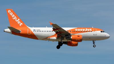 G-EZDX - Airbus A319-111 - easyJet