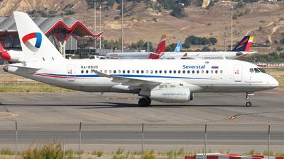 RA-89135 - Sukhoi Superjet 100-95B - Severstal Air Company