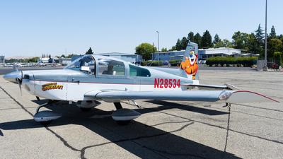 N28534 - Grumman American AA-5B Tiger - Private