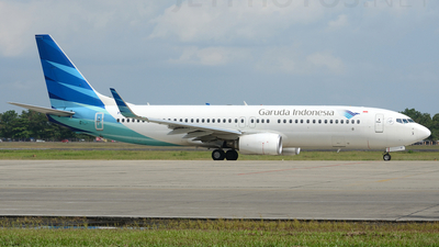 PK-GNF - Boeing 737-8U3 - Garuda Indonesia