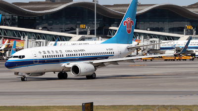 A picture of B5240 - Boeing 73771B - China Southern Airlines - © Tongjun XIANG