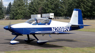 N209RV - Vans RV-9A - Private