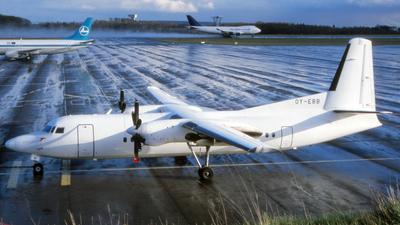 OY-EBB - Fokker 50 - Newair