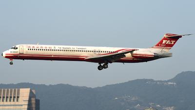 B-28007 - McDonnell Douglas MD-83 - Far Eastern Air Transport (FAT)