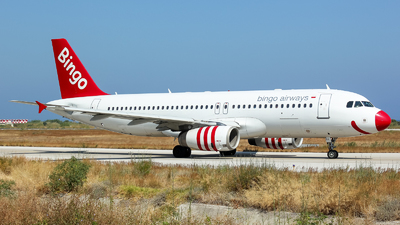 SP-ABK - Airbus A320-233 - Bingo Airways