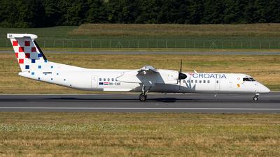 A picture of 9ACQE - De Havilland Canada Dash 8400 - Croatia Airlines - © Thomas Ranner