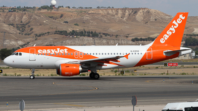A picture of GEZGG - Airbus A319111 - easyJet - © Alfonso Solis