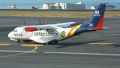 B705 - IPTN CN-235-220 - South Korea - Coast Guard