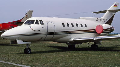 D-CJET - Hawker Siddeley HS-125-600B - Private
