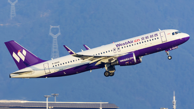 B-8846 - Airbus A320-214 - West Air