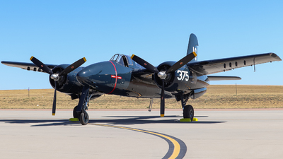 N379AK - Grumman F7F Tigercat - Private