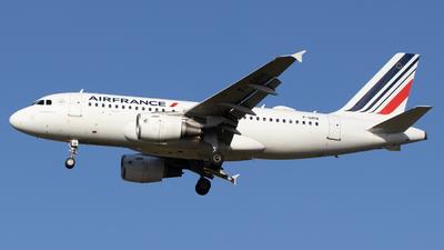 F-GRHI - Airbus A319-111 - Air France