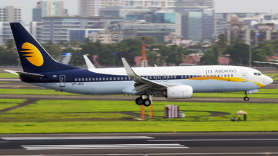 VT-JFQ - Boeing 737-8AL - Jet Airways