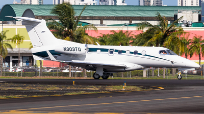 N303TG - Embraer 505 Phenom 300 - Private