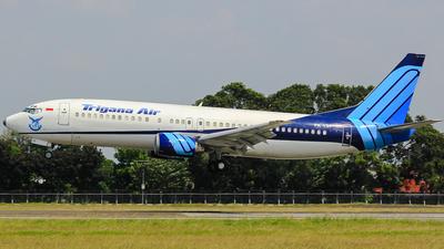 PK-YSF - Boeing 737-4Y0 - Trigana Air Service