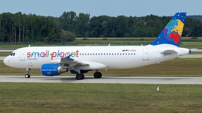 D-ASPG - Airbus A320-214 - Small Planet Airlines Germany