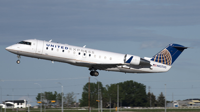 N857AS - Bombardier CRJ-200LR - United Express (SkyWest Airlines)