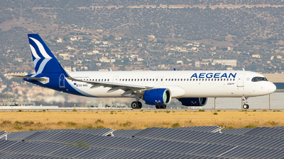 SX-NAD - Airbus A321-271NX - Aegean Airlines