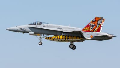 C.15-14 - McDonnell Douglas EF-18A+ Hornet - Spain - Air Force