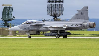 9240 - Saab JAS-39C Gripen - Czech Republic - Air Force