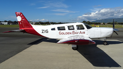 ZK-ZIG - Piper PA-32R-301 Saratoga SP - Golden Bay Air