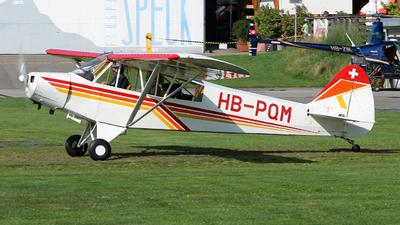 HB-PQM - Piper PA-18-95 Cub - Private