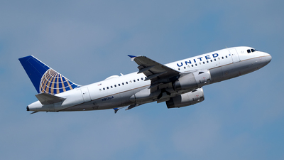 N813UA - Airbus A319-131 - United Airlines