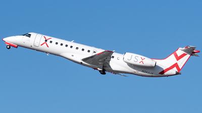 A picture of N263JX - Embraer ERJ135LR - JSX - © Ricky Teteris