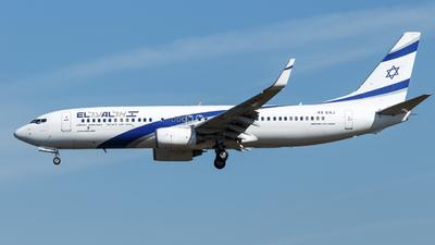 4X-EKJ - Boeing 737-85P - El Al Israel Airlines