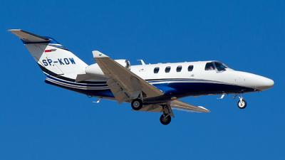 SP-KOW - Cessna 525 CitationJet M2 - Private