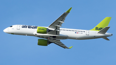 A picture of YLCSI - Airbus A220300 - Air Baltic - © RAFAL KUKOWSKI