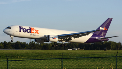 A picture of N168FE - Boeing 7673S2F(ER) - FedEx - © DJ Reed - OPShots Photo Team