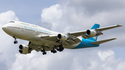 N747GF - Boeing 747-446 - General Electric