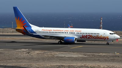 A picture of GDRTG - Boeing 7378BK - Jet2 - © Alfonso Solis