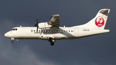 JA04JC - ATR 42-600 - Japan Air Commuter (JAC)
