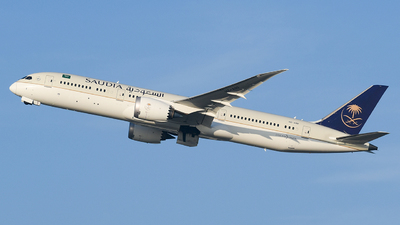 A picture of HZARF - Boeing 7879 Dreamliner - Saudia - © MilanWitham