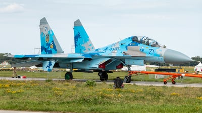 71 - Sukhoi Su-27 Flanker - Ukraine - Air Force