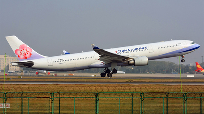 B-18312 - Airbus A330-302 - China Airlines