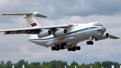 RA-76733 - Ilyushin IL-76MD - Russia - Air Force