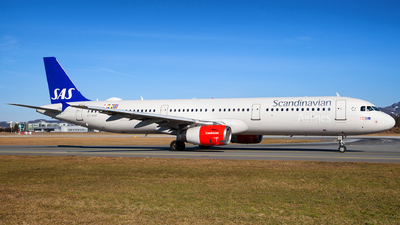 OY-KBF - Airbus A321-232 - Scandinavian Airlines (SAS)