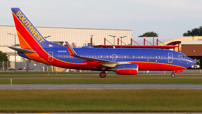A picture of N416WN - Boeing 7377H4 - Southwest Airlines - © Jeremy D. Dando