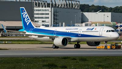 D-AVXR - Airbus A321-272N - All Nippon Airways (ANA)