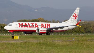 A picture of 9HVUC - Boeing 737 MAX 8200 - Malta Air - © Matteo Mariani