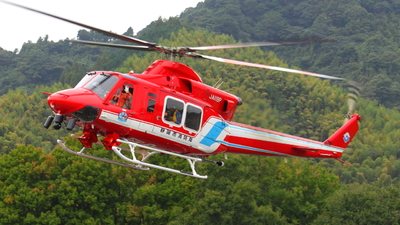 JA119P - Bell 412EP - Shizuoka City Fire Department Air Corps