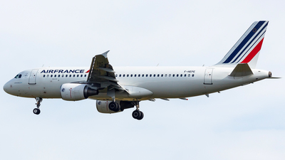 F-HEPE - Airbus A320-214 - Air France