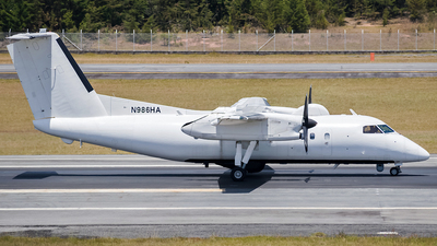 N986HA - Bombardier Dash 8-Q202 - United States - US Air Force (USAF)