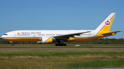 V8-BLC - Boeing 777-212(ER) - Royal Brunei Airlines