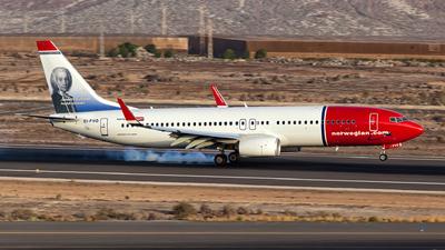 EI-FVO - Boeing 737-8JP - Norwegian