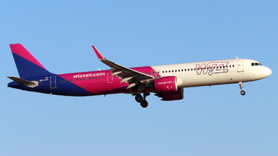 HA-LVC - Airbus A321-271NX - Wizz Air