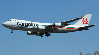 LX-KCV - Boeing 747-4R7F(SCD) - Cargolux Italia Airlines